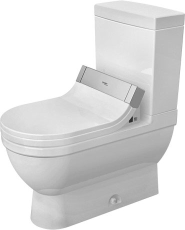 Starck 3 Two-piece toilet