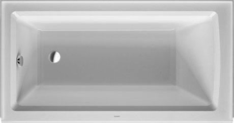 Bathtub with panel height 19 1/4