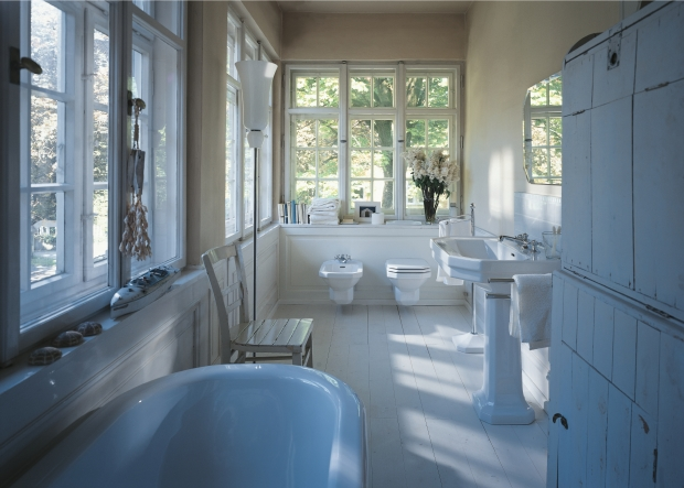 Duravit bathroom design series 1930 washbasins for 1930 bathroom design ideas