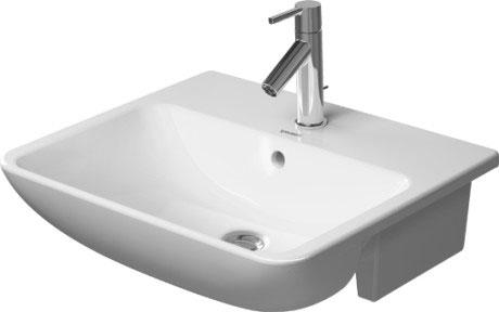 ME by Starck Semi-recessed washbasin #11 | Duravit