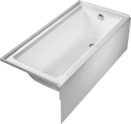 reviews from architec one with bathtub tub duravit tubs built in slope