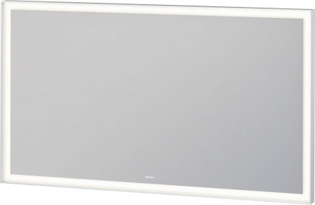 L Cube Mirror With Lighting Lc7383 Duravit