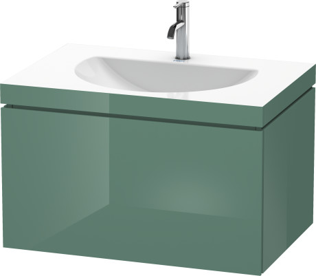 Captivating Furniture Washbasin C Bonded With Vanity Wall Mounted, LC6900O0303 Photo