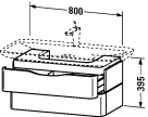 PV 6767 Vanity unit wall-mounted