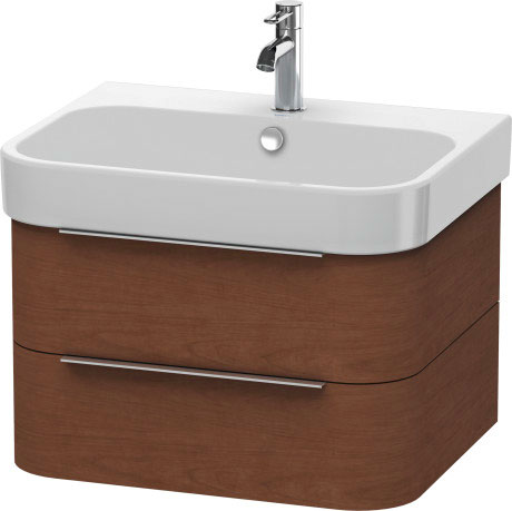 Happy D 2 Vanity Unit Wall Mounted H26364 Duravit