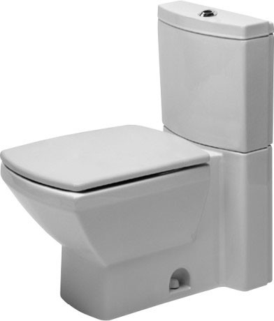 US Toilets Two-piece toilet