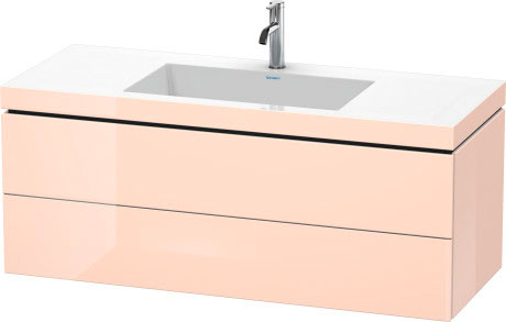 Furniture Washbasin C Bonded With Vanity Wall Mounted, LC6929O1010