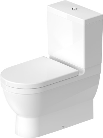 Duravit Starck 3 Toilets Toilet close coupled by
