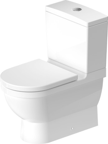 Starck 3 Toilet Close Coupled 012809 Duravit