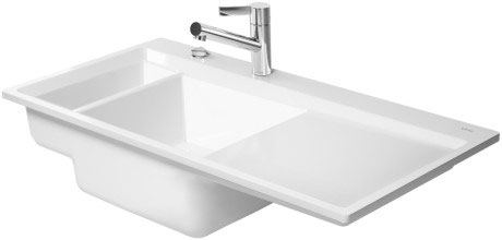 Kiora Kitchen sink flush mounted Kiora 60 L