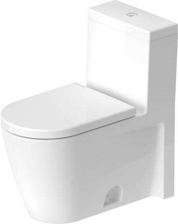 starck 2 one piece toilet. Black Bedroom Furniture Sets. Home Design Ideas