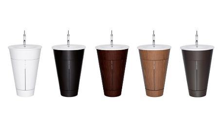 Philippe Starck Wastafel : Duravit starck 1: bathroom furniture & accessories duravit