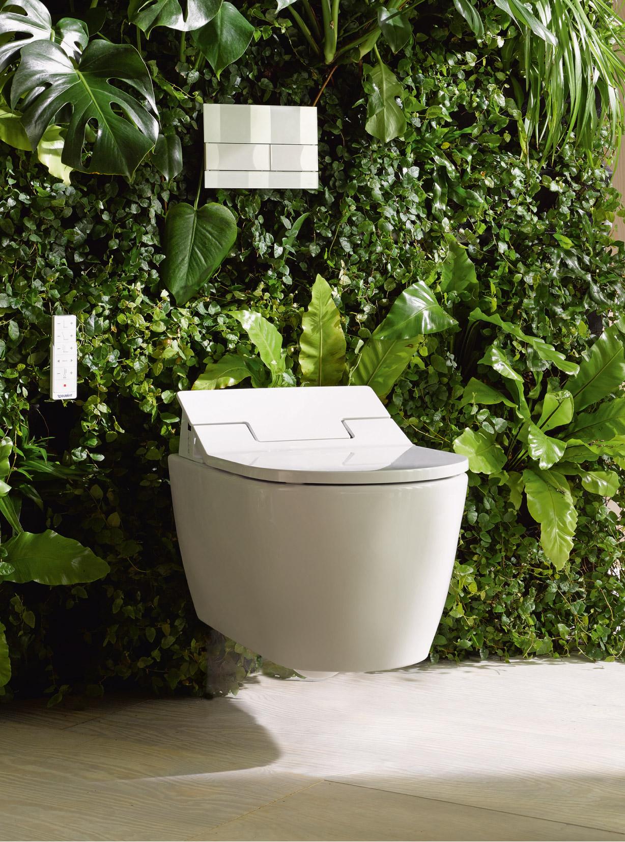 duravit sensowash starck c pioneering shower toilets. Black Bedroom Furniture Sets. Home Design Ideas