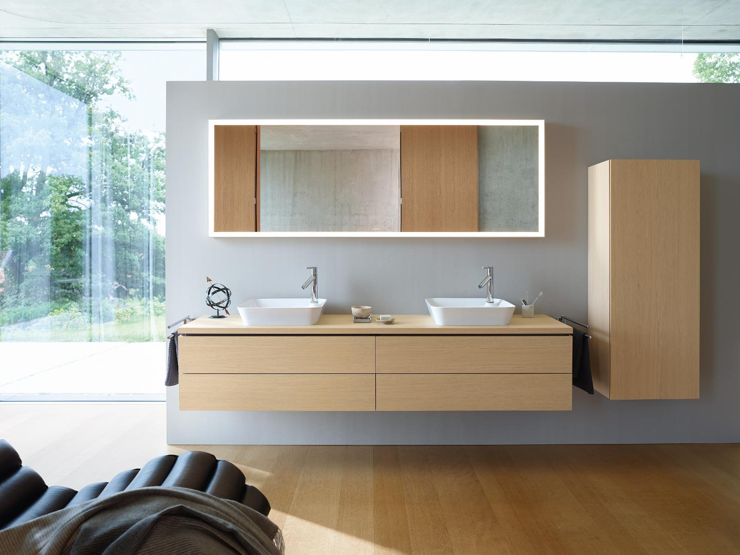 L-Cube Vanity unit wall-mounted #LC6242 | Duravit