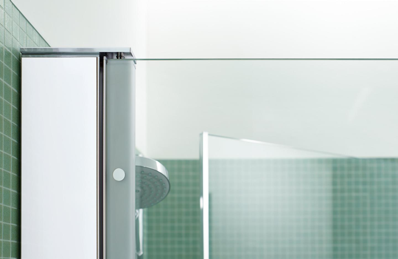 Duravit OpenSpace B: Modern glass shower enclosures | Duravit