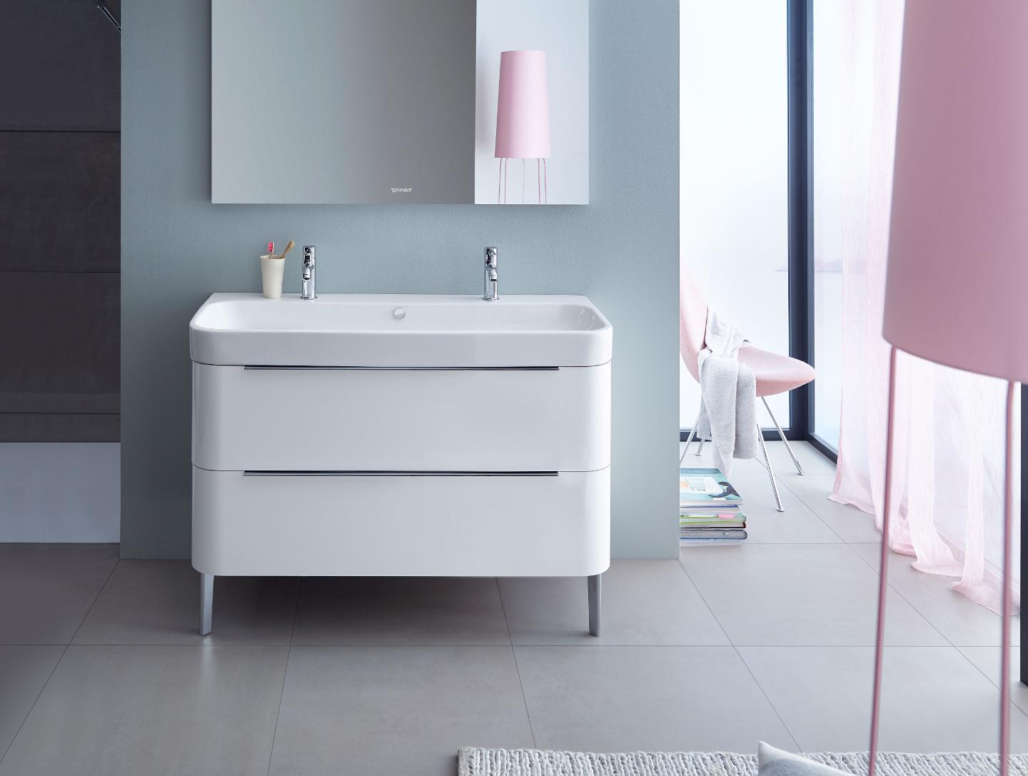Happy D 2 Washbasins Toilets Bidets Tubs And Bath
