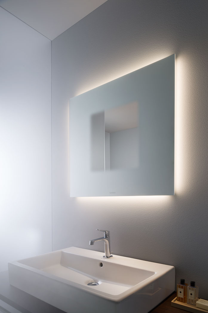 Bathroom Mirror Cabinet With Lights light and mirror: design bathroom mirrors | duravit
