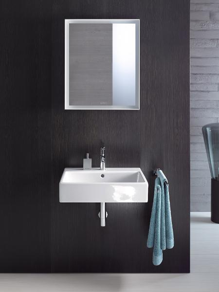 Duravit DS6498 DuraStyle Wall Mounted Double Sink Modern Bathroom Vanity  Unit