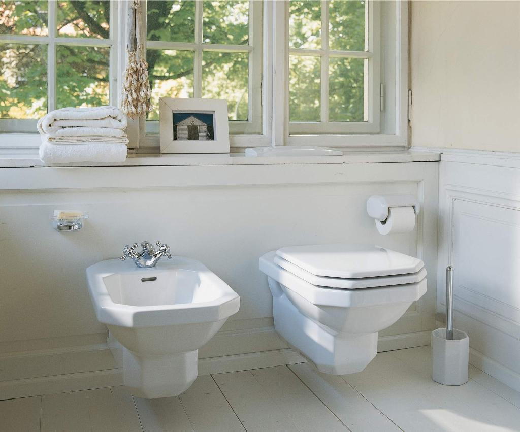 Duravit 1930 series: Toilets, sinks & more | Duravit