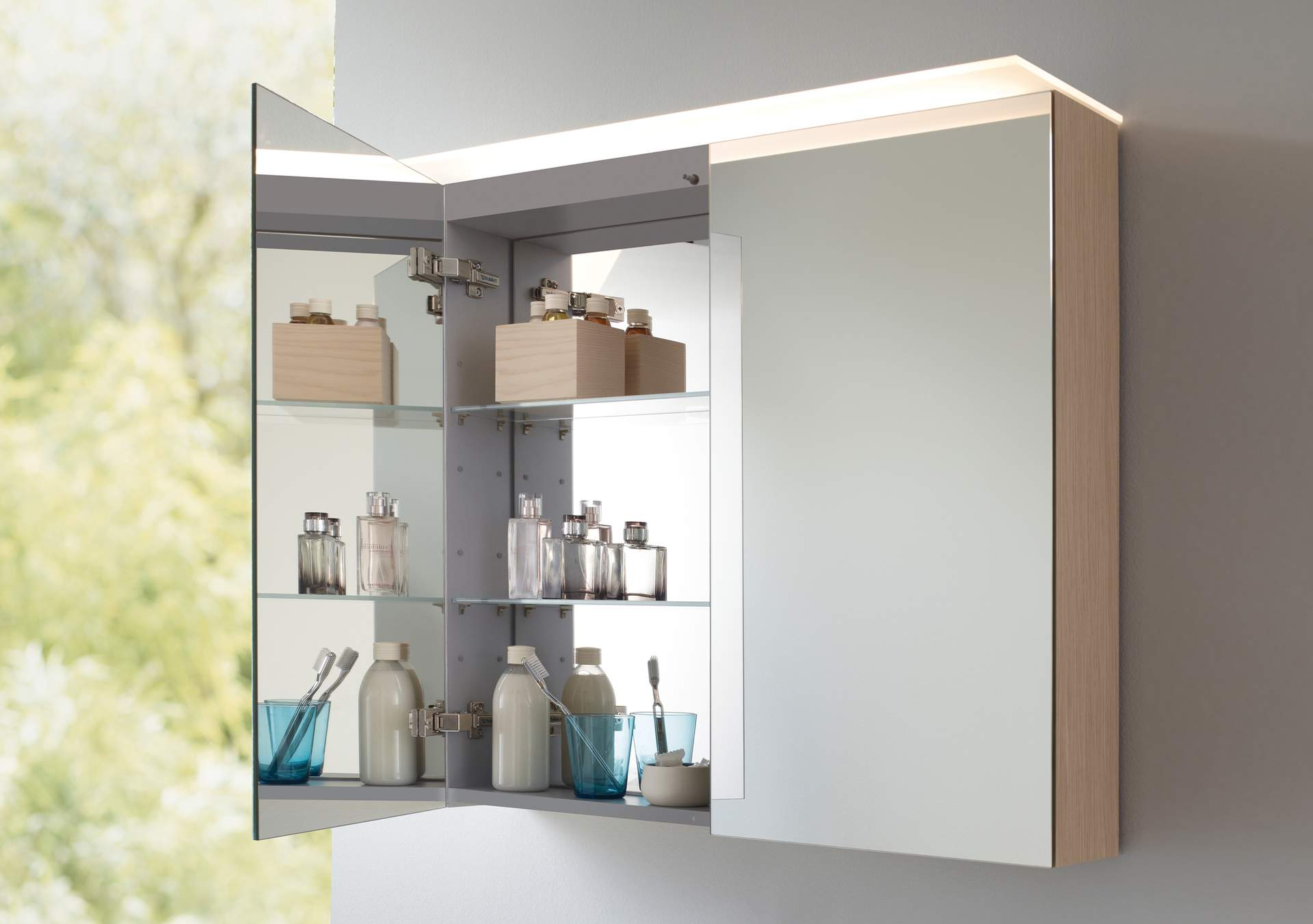Attrayant Mirror Cabinets And Mirrors With Lighting   Duravit