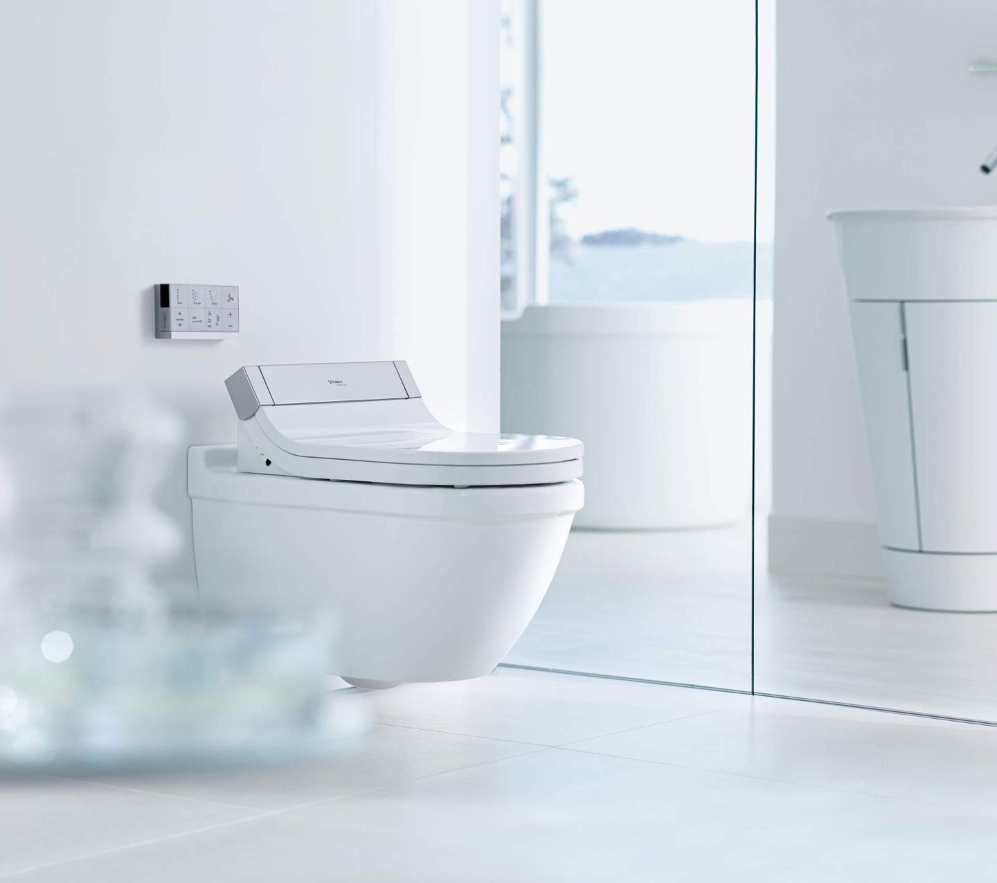 Duravit Sensowash Starck C Pioneering Shower Toilets