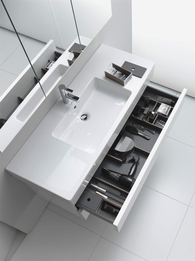 Delos Mirror cabinet #DL7542 | Duravit