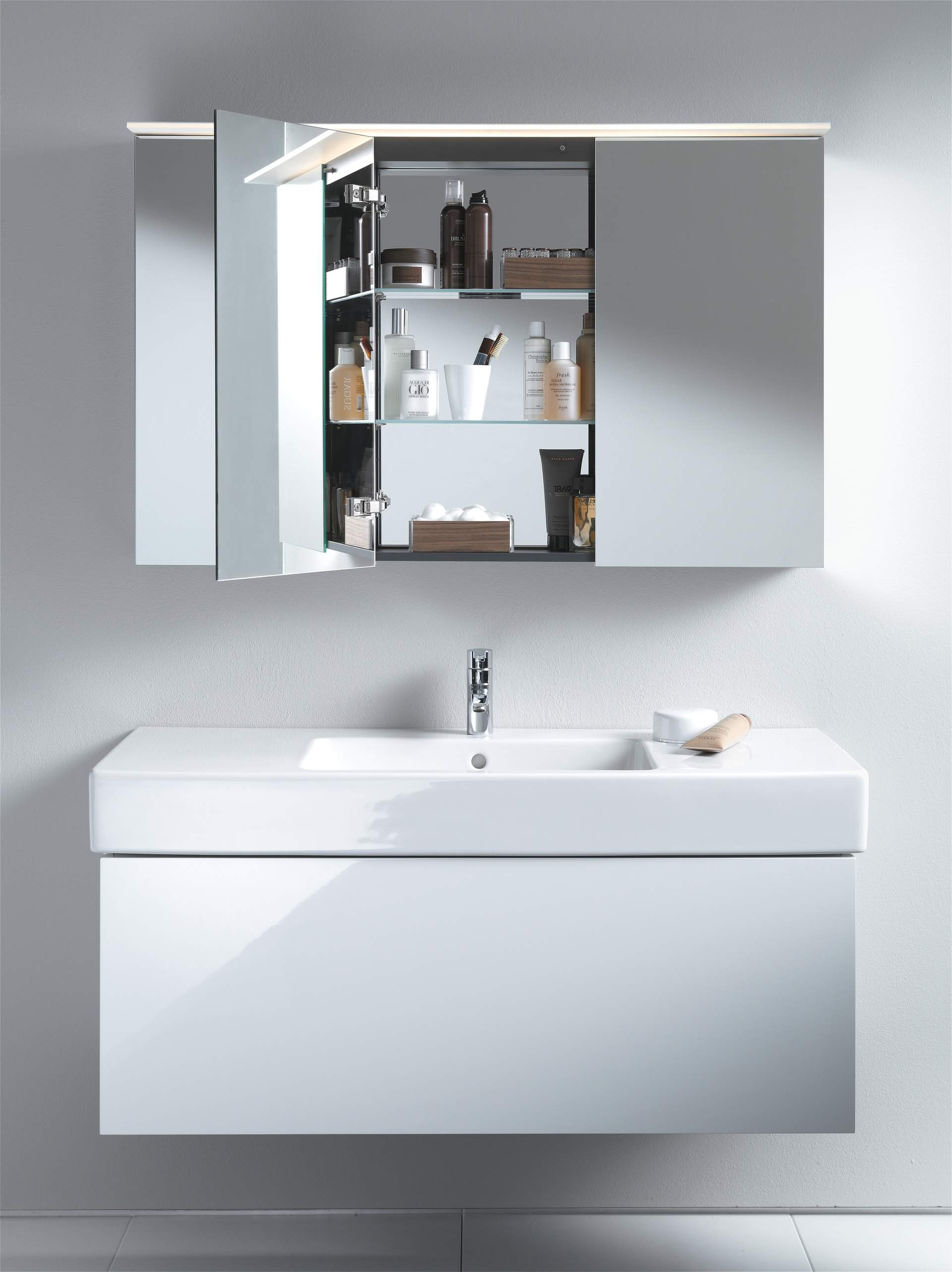 Merveilleux Mirror Cabinets And Mirrors With Lighting   Duravit
