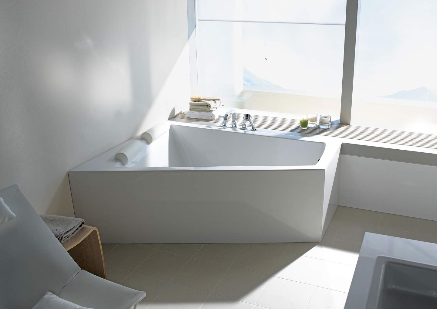 Duravit Paiova: The two person bathtub | Duravit