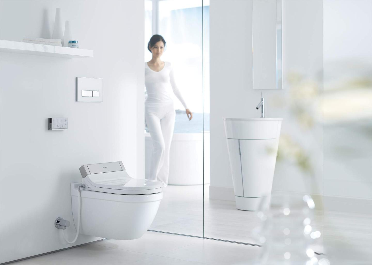 Sensowash 174 Starck Sensowash 174 Starck Shower Toilet Seat For