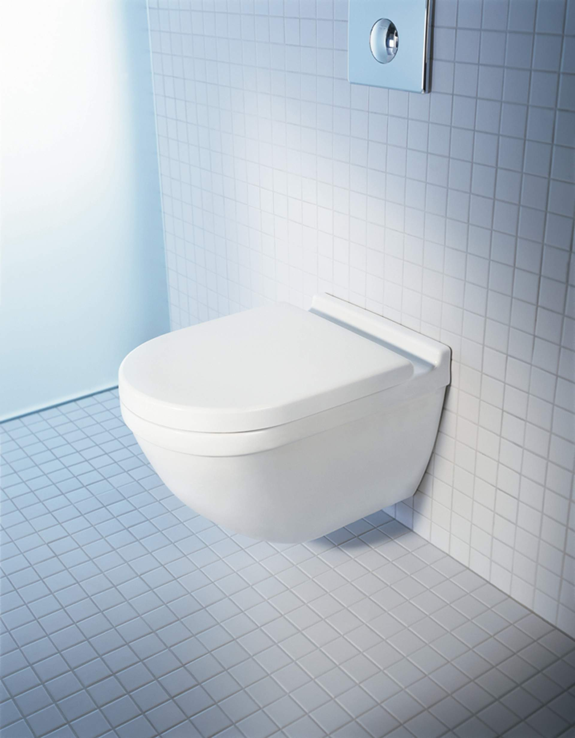 reason enough for philippe starck to dedicate just as much care to its design as to any other item in the range the wallmounted toilet that is closed at