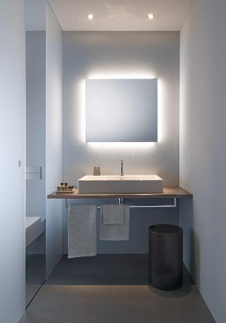 Bathroom Mirrors Range light and mirror: design bathroom mirrors | duravit